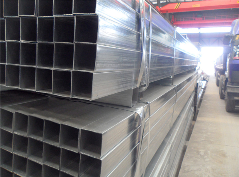 Tubo de acero cuadrado ASTM A500 para construcción