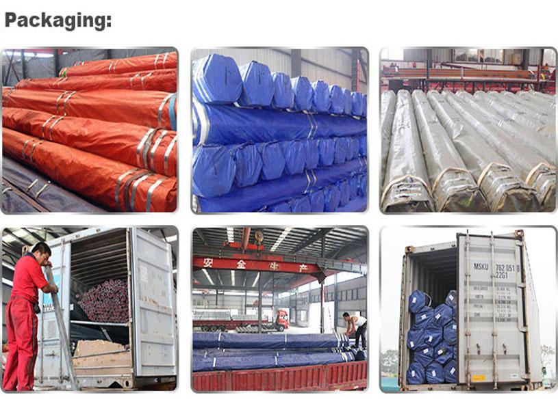 Tubo cuadrado galvanizado y tubo rectangular para estructuras de muebles