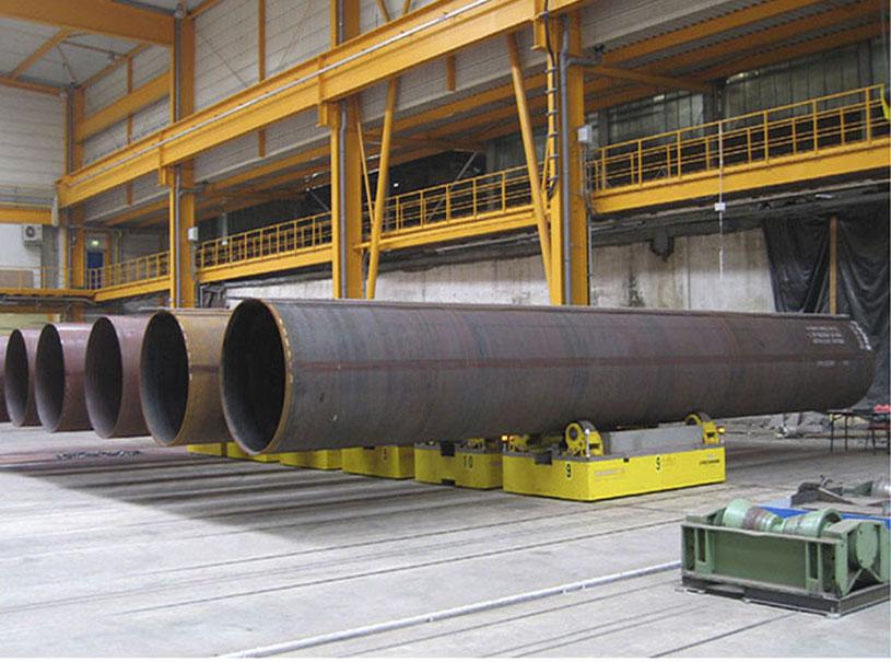 Tubo Espiral Piling Tubo De Acero