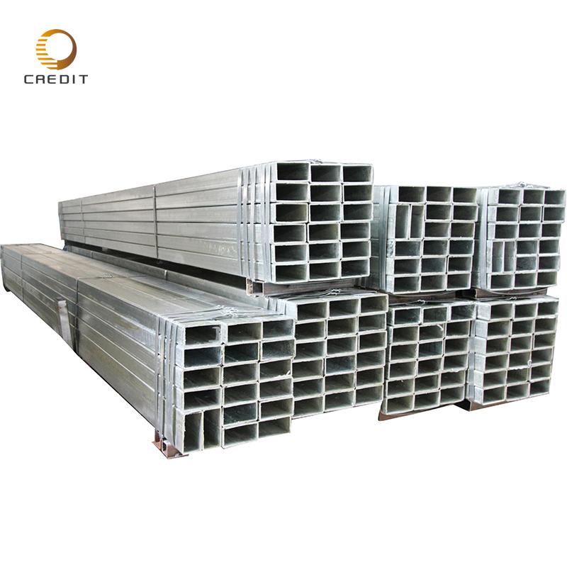 ASTM steel profile ms square tube galvanized