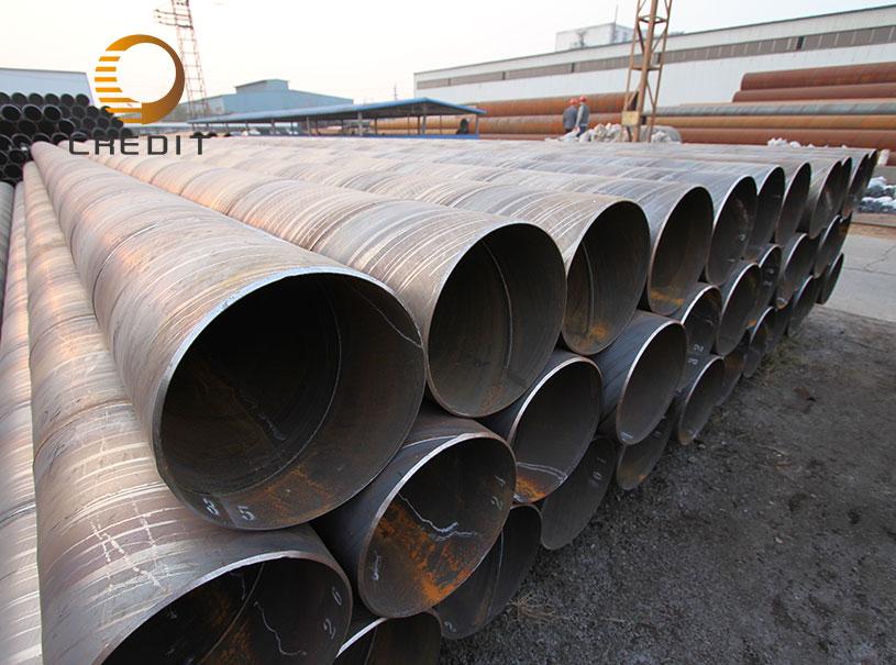 DIN EN API 5L SSAW Steel Pipe