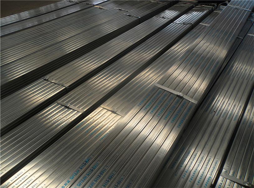 tubo rectangular de acero