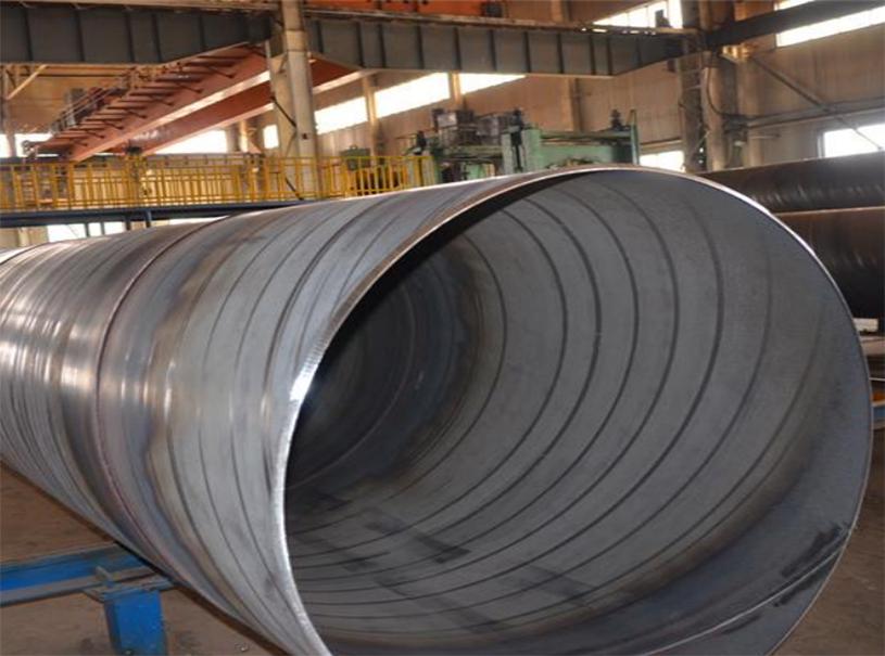 Tubería de gas y petróleo Tubería de acero en espiral de carbono