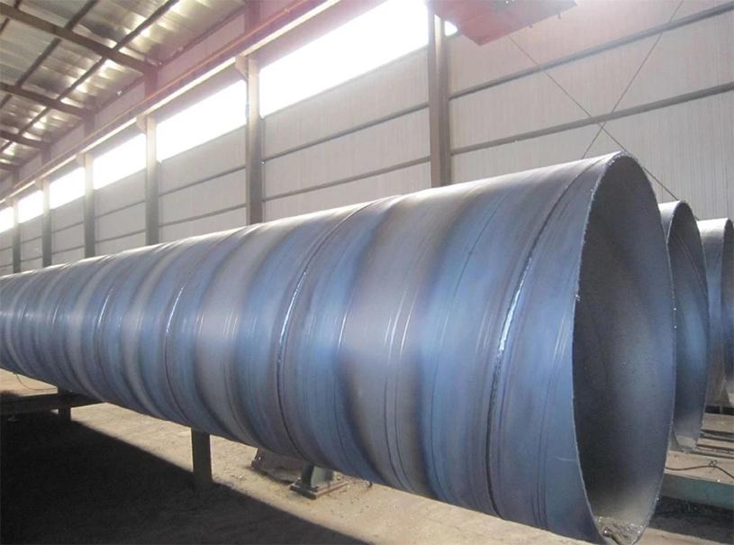 Tubo de acero al carbono SSAW de uso para agua de transferencia