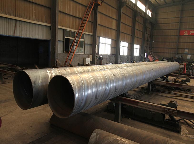 API 5L SSAW Tubos de acero soldados en espiral para construcción