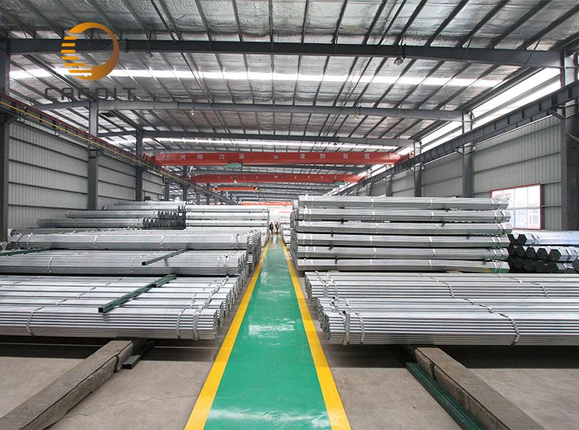 Tubos pregalvanizados Construcción Materiales de construcción Tubo de acero GI