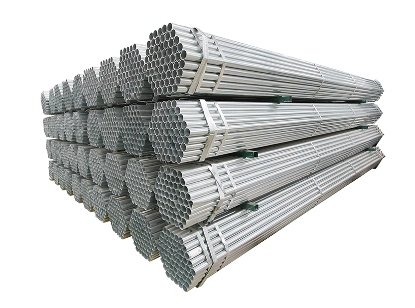 tubo de acero, tubo de acero redondo galvanizado