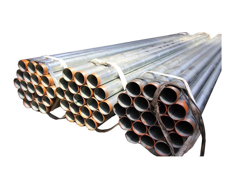 Tubo de acero redondo galvanizado