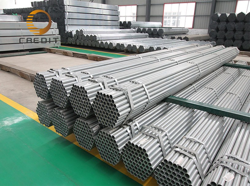 ERW Welded Galvanized Greenhouse Structure Steel Pipe
