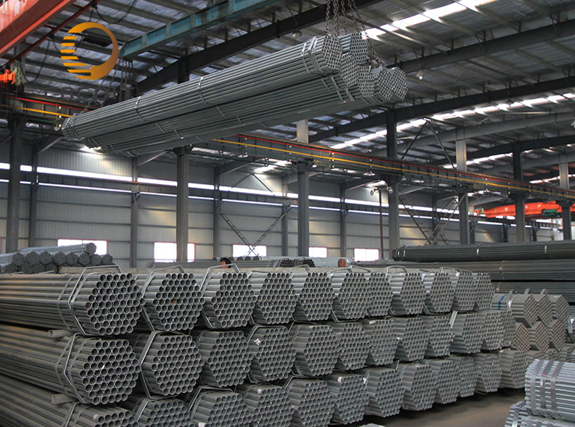 Low pressure water transporting carbon steel pipe