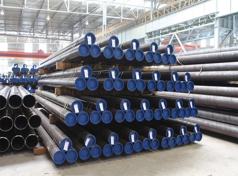 Tubo de acero sin costura de alta calidad para gas y petróleo